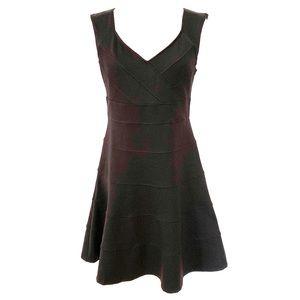 WHBM | Bandage Style Black Fit & Flare Dress Sz 8
